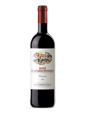 Vino Ruchè di Castagnole Monferrato di P.F.Gatto