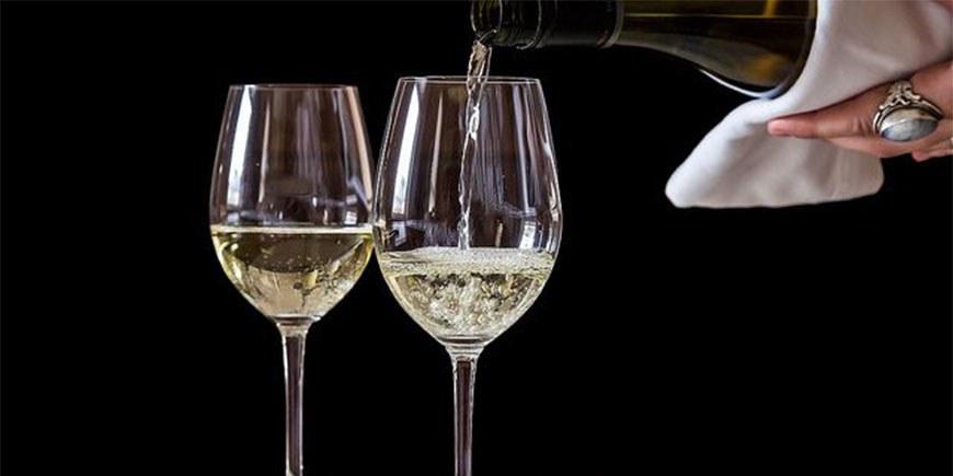 champagne 2 bicchieri