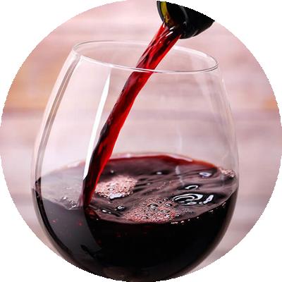 Vino rosso vinonesto