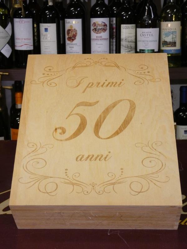 """Confezione """"I Primi 50 Anni"""" cassetta"""