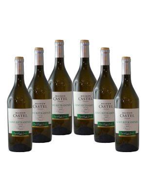 SUPER OFFERTA 6 bottiglie di Gewurztraminer Maison Castel